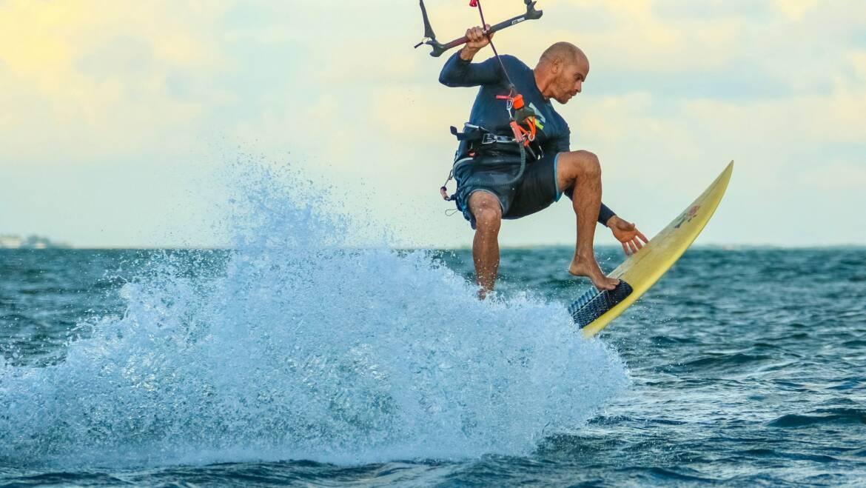 Nauka kitesurfingu nie musi być straszna
