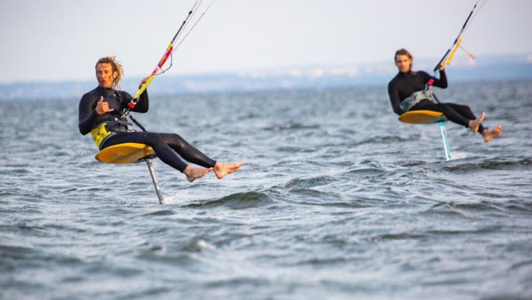 Szkolenie kitesurfing hel